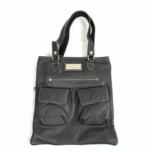 Harley-Davidson Black Leather Shoulder / Tote Bag